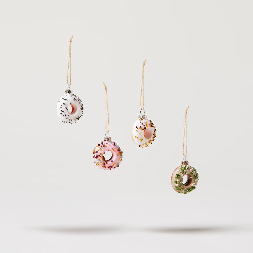 glass doughnuts