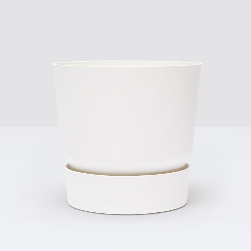 studio - elho white 25cm plastic reservior