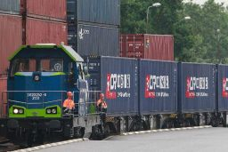 China freight train
