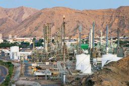 Oman oil field
