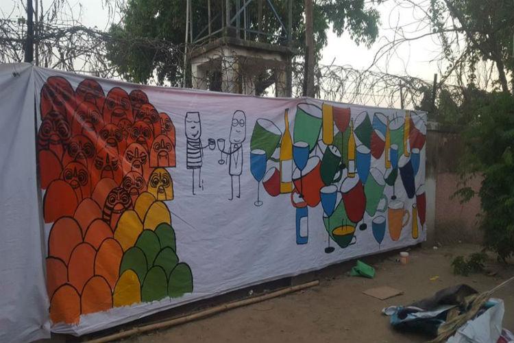 BIT_dhaba_Wall_Paint