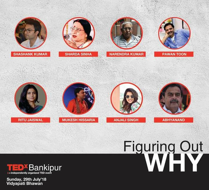 Speakers Of TEDX Patna