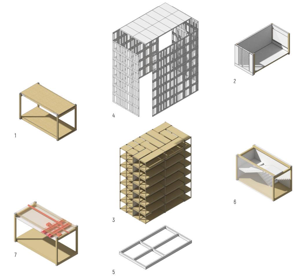 Pattern Building parts