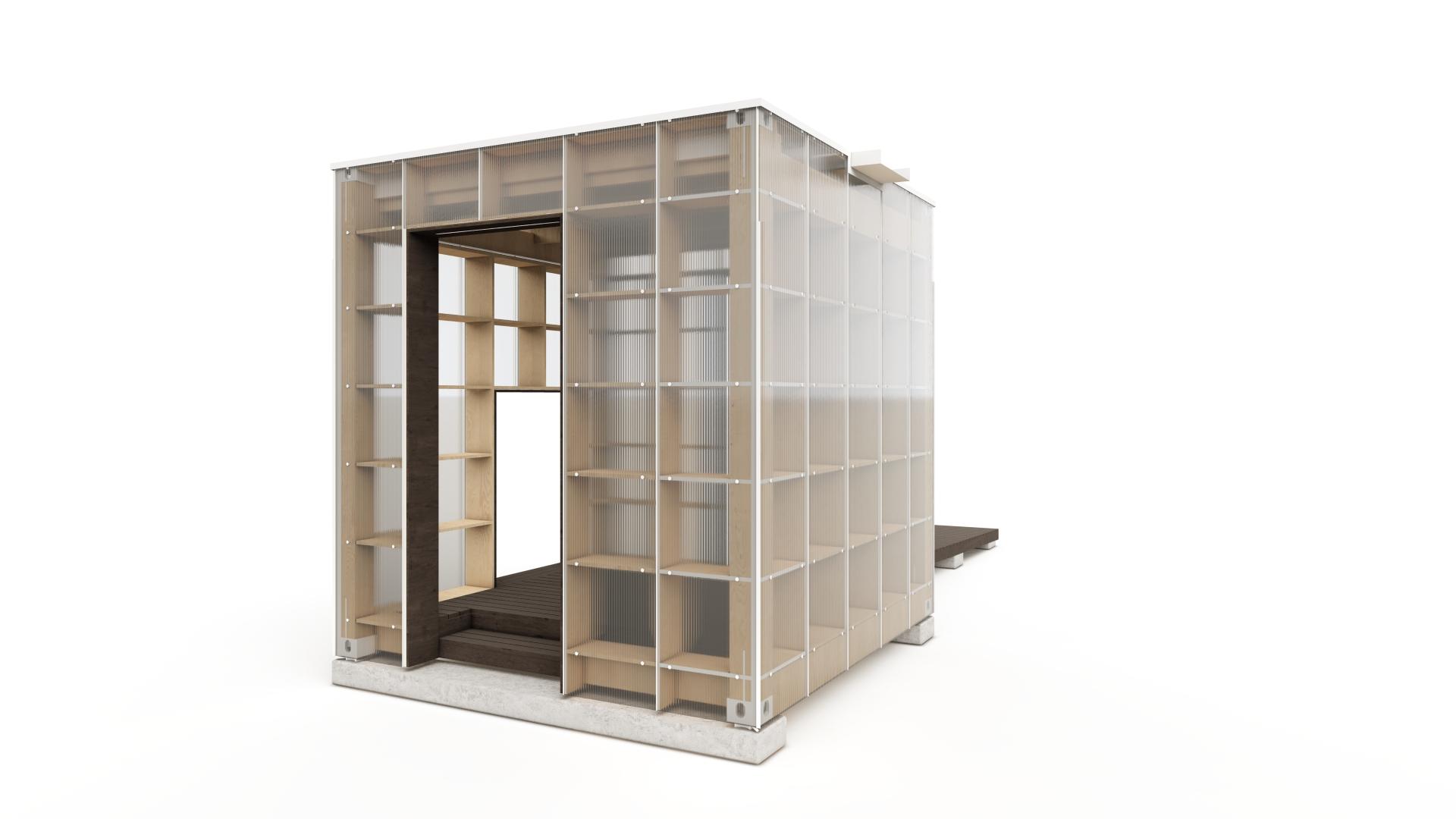 Cuboids - 369 Pattern Buildings project