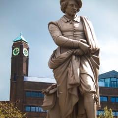 Statue of Rembrandt on Rembrandtplein.