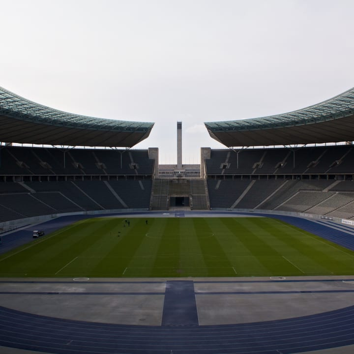 Inside the Olympiastadion