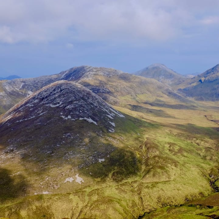 Twelve Bens Mountain Range, Connemara National Park