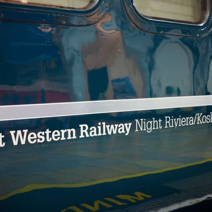 Night Riviera Sleeper carriage