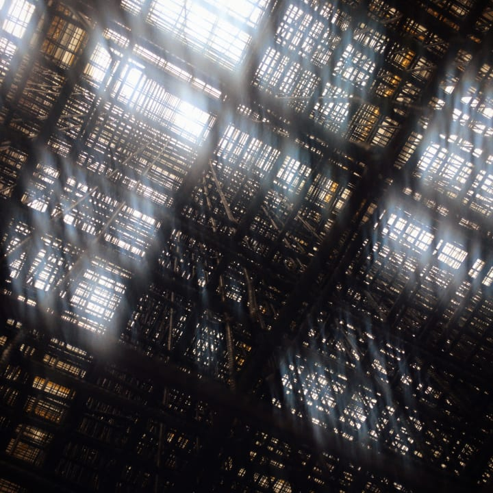 View from below 'Matrix'.