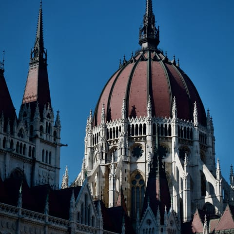 Hungarian Parliament Building.