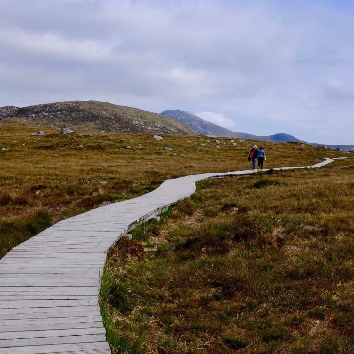 Walking Trail, Connemara National Park.