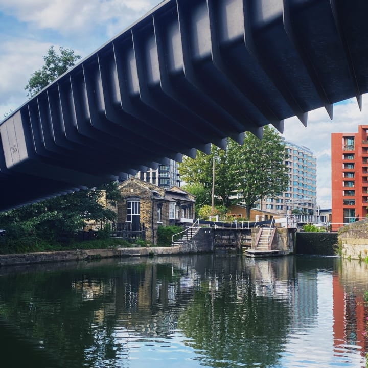 Bridge over the Regent's Canal.