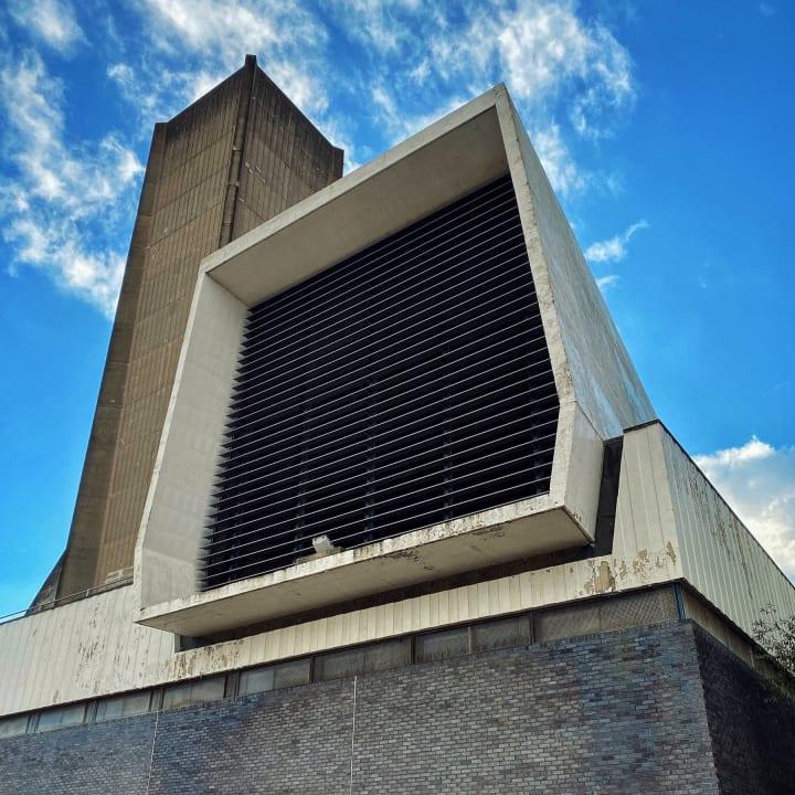 Kingsway Tunnel ventilation building.