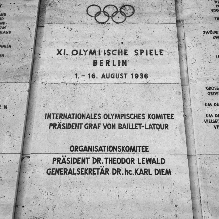 Olympic Games 1936.