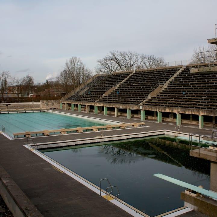 Olympic Swimming Pool.