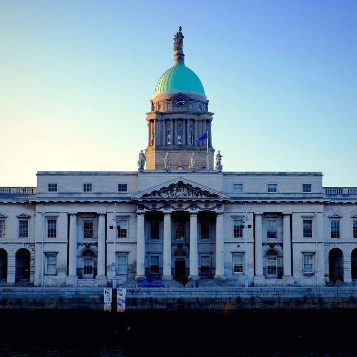 The Custom House, Dublin.