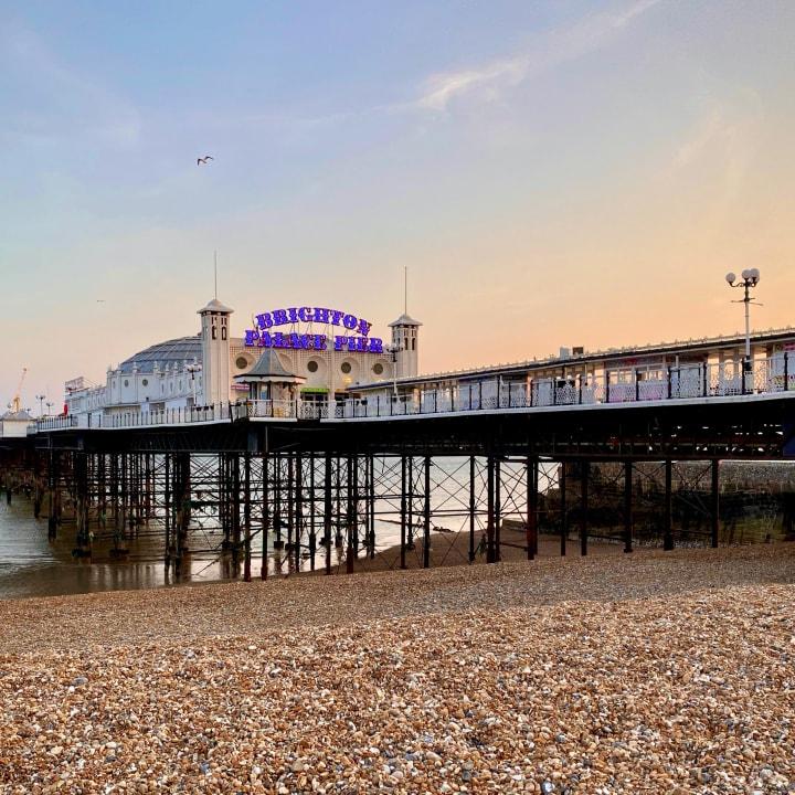 Brighton Palace Pier.