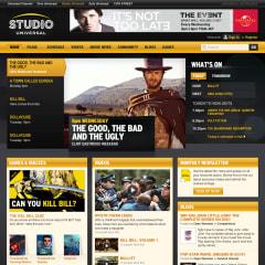 Studio Universal home page