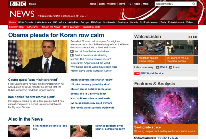 Thoughts on the BBC News Redesign – Paul Robert Lloyd