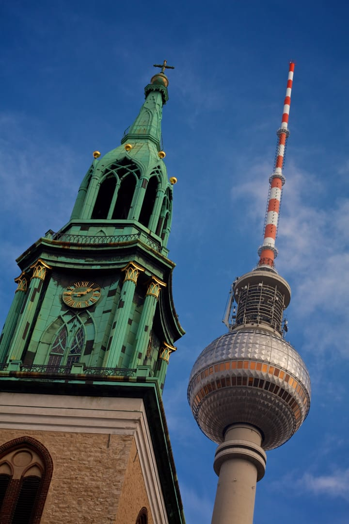 St. Mary's Church and Fernsehturm