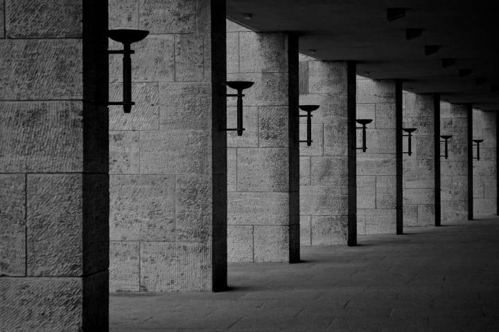 Olympiastadion lighting