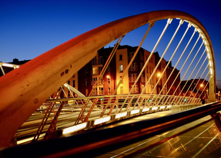 James Joyce Bridge, Dublin