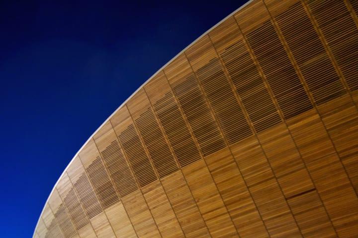 Olympic Velodrome.