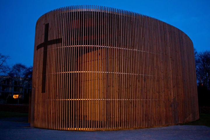 Chapel of Reconciliation, Bernauer Straße.