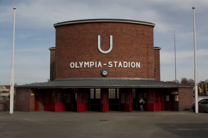 Olympiastadion U-Bahn station.