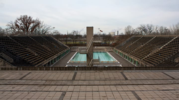 Olympic Swimming Pool.