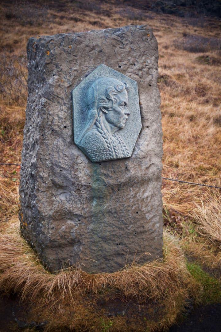 Sigriður Tómasdóttir memorial.