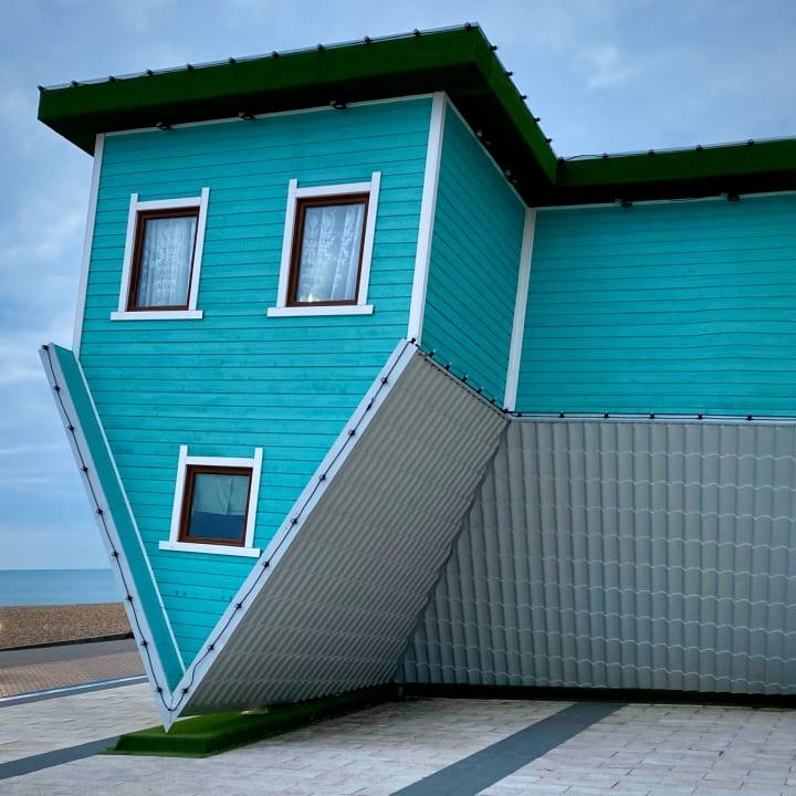 Upside Down House.
