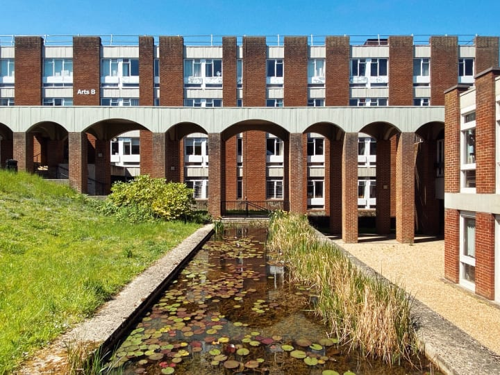 Art C building, University of Sussex.