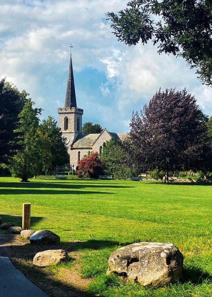 Stanmer Church.