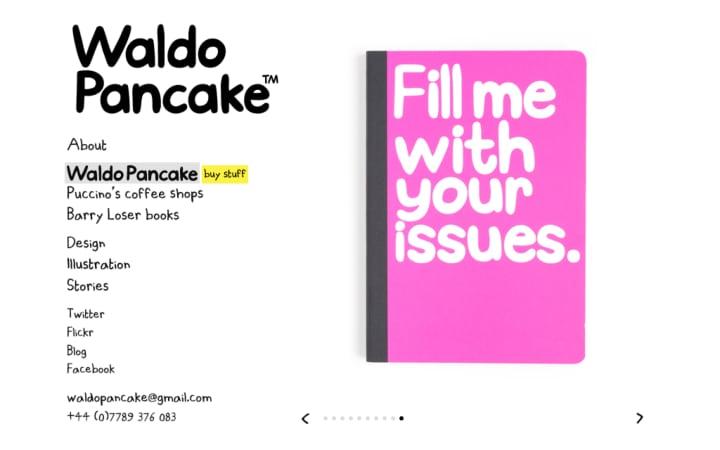 Slideshow of Waldo Pancake merchandise