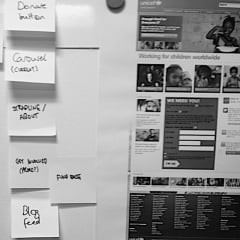 Home page prioritisation exercise