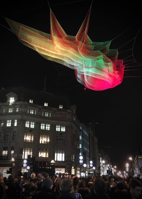'1.8 London' by Janet Echelman