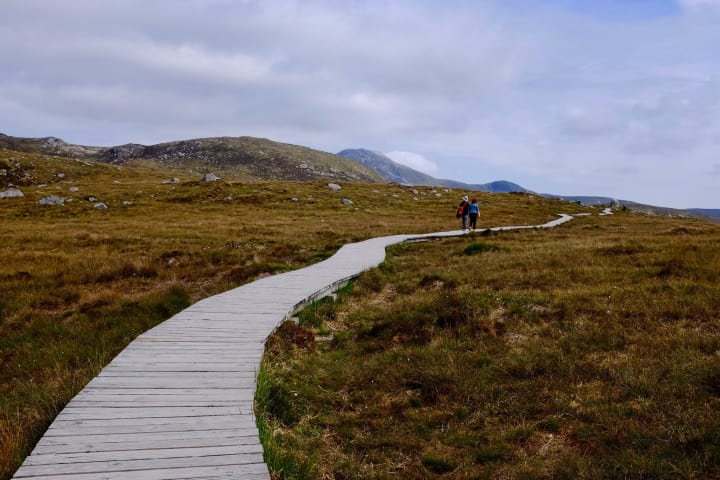 Walking Trail, Connemara National Park