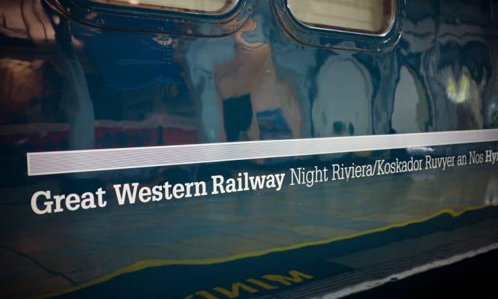 Night Riviera Sleeper carriage.