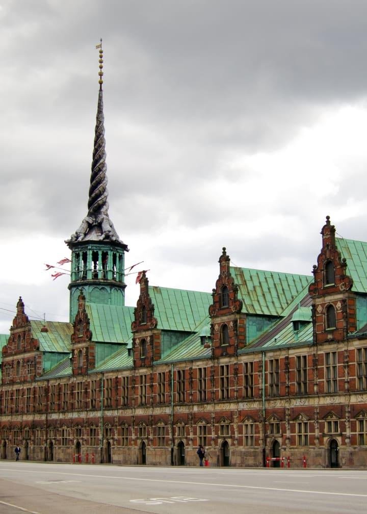 The Exchange building in Copenhagen.