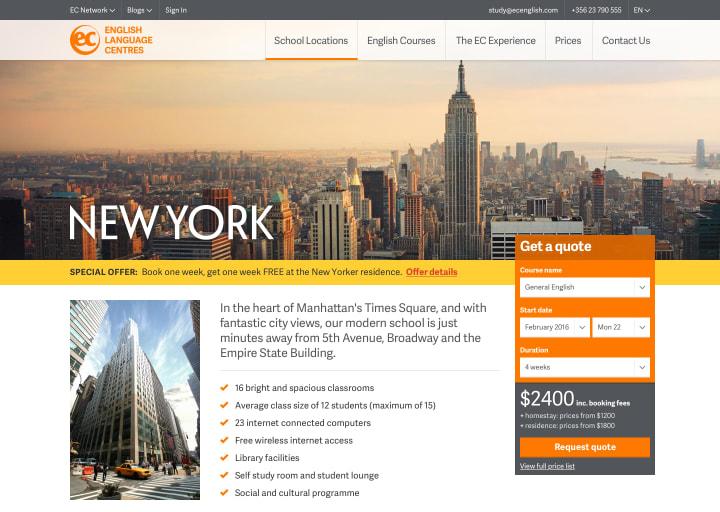New York school page
