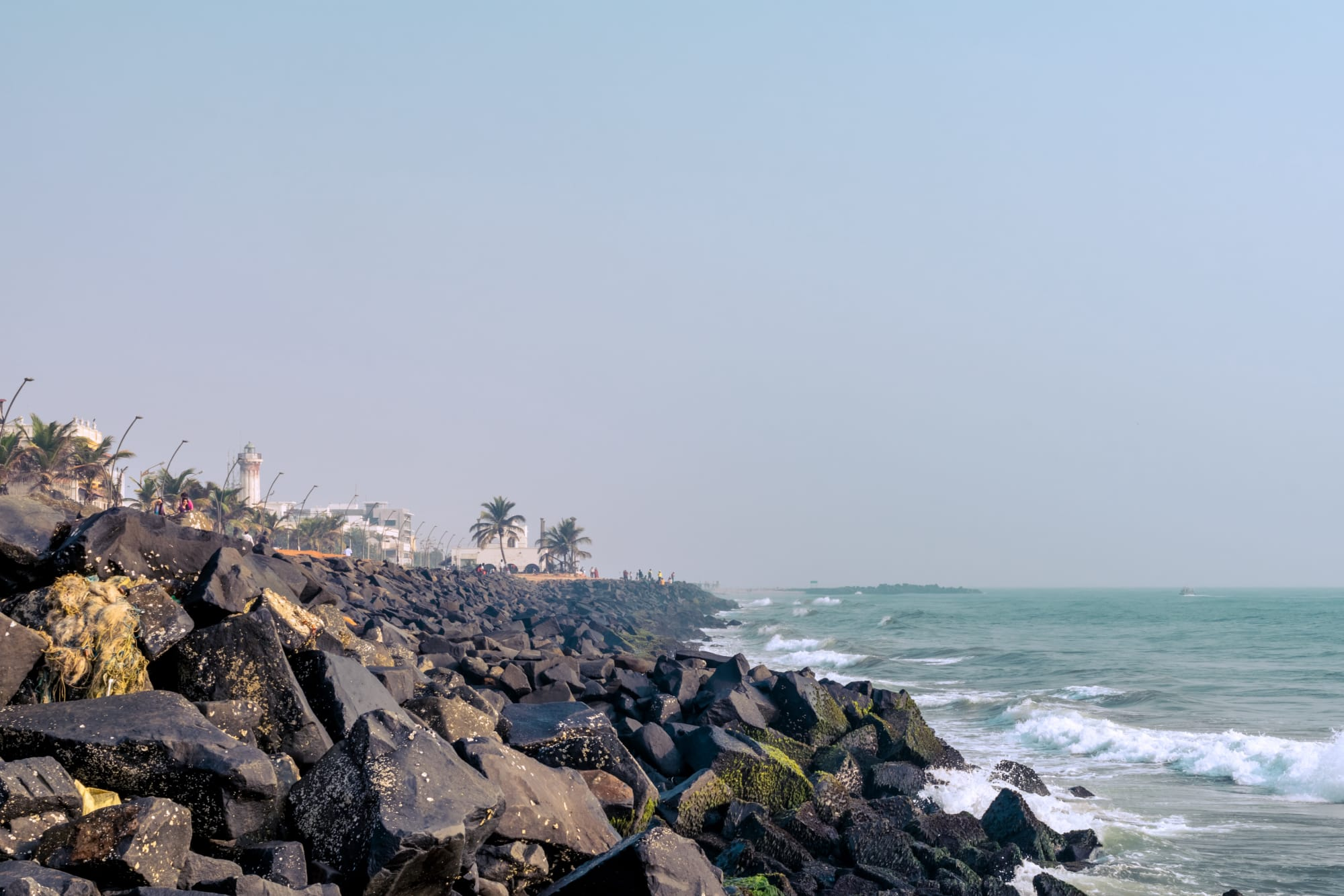 The majestic Bay of Bengal greets you with its soothing roar!