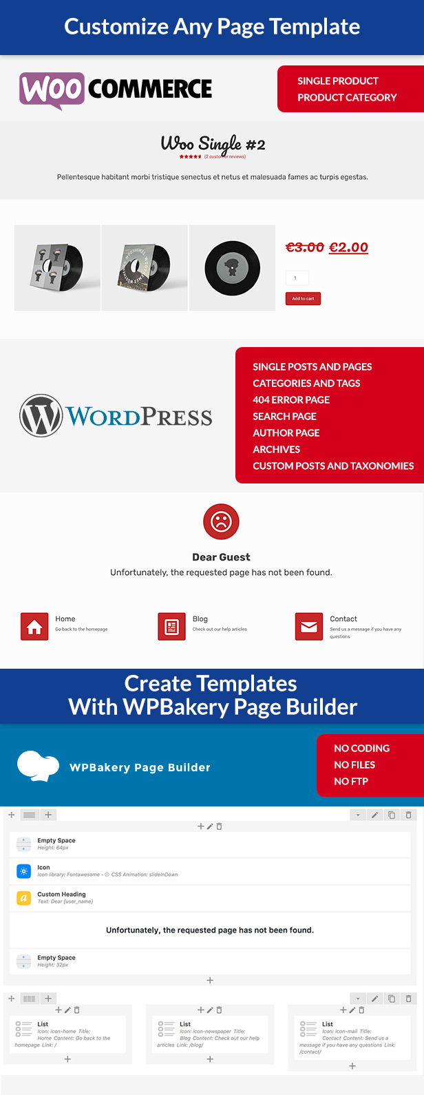 Custom page templates new way of creating custom for Create a new page template wordpress