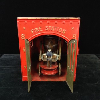 Collectible fire station