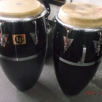 LP Congas-pair with bag