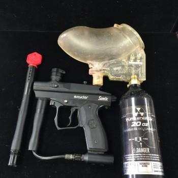 Spyder sonix paintball gun