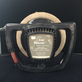 "Orbital 10"" car waxer"