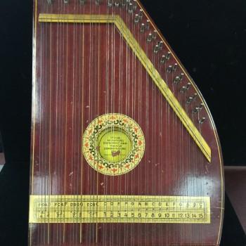 Paramount concert harp