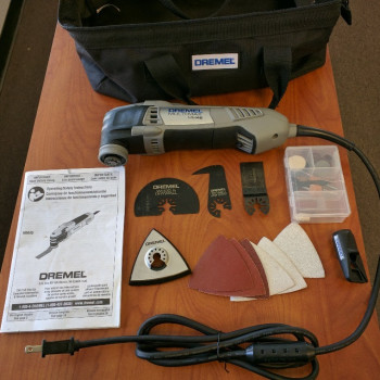 Dremel MM45 with bag and accesories.