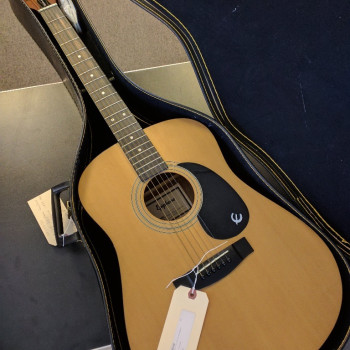 Epiphone PR200 Acoustic Guitar with Case